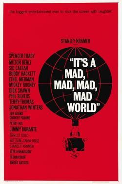 """""""It's a Mad, Mad, Mad, Mad World"""" 1963, Directed by Stanley Kramer"""