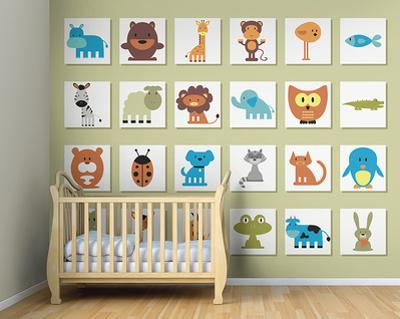 It's A Wild Life Wall Mural