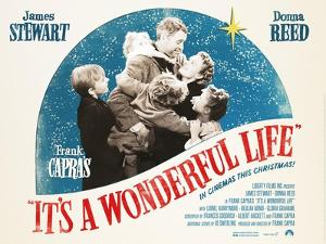 It's a Wonderful Life, British 2007 Re-Release Posters, 1946