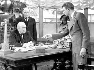 It's A Wonderful Life, Lionel Barrymore, Frank Hagney, James Stewart, 1946