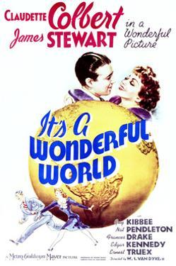 It's a Wonderful World - Movie Poster Reproduction