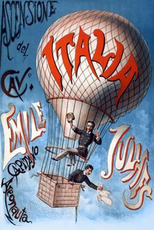 Italian Balloon Poster