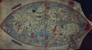 Genoese World Map, Designed by Toscanelli by Italian School