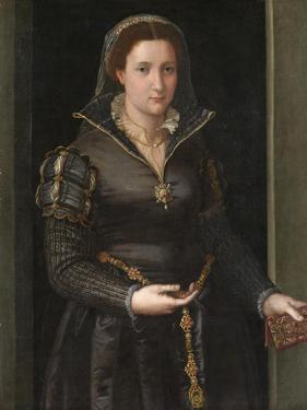 Portrait of Isabella de' Medici , c.1550-1565. by Italian School