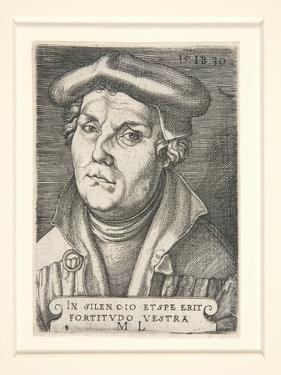 Portrait of Martin Luther, 1530 by Italian School