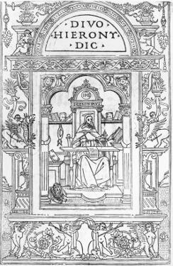 St. Jerome in His Study by Italian School