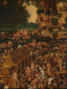 The Flood, 1450--99 by Italian School