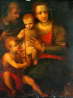The Holy Family And St John, 1501 by Italian School