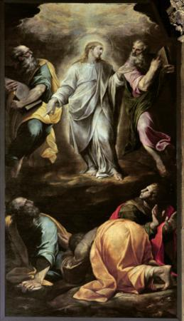 The Transfiguration of Christ from the Organ, Completed 1559-1602 by Italian School
