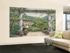 Italian Villa Large Huge Mural Art Print Poster