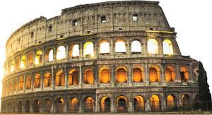 Italy Colosseum Lifesize Standup