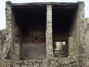 Italy, Herculaneum, the House of the Stags, 1st Ad, Rooms