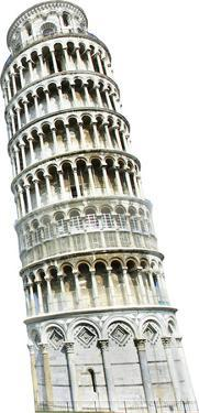 Italy Leaning Tower Of Pisa Lifesize Standup