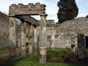 Italy, Pompeii, Villa of Diomedes, Atrium-Peristyle