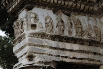 Italy, Rome, Forum of Nerva, Built in 85-97 A,C, Colonnacce, Frieze
