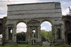 Italy, Rome, Larger Gate (Porta Maggiore)