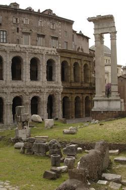 Italy, Rome, Theatre of Marcellus, 1st Century BC