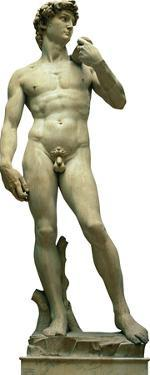 Italy Statue Of David Lifesize Standup