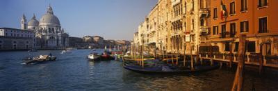 Italy, Venice, Santa Maria Della Salute, Grand Canal