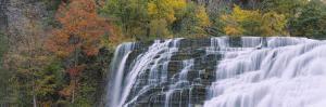 Ithaca Falls, Tompkins County, Ithaca, New York, USA