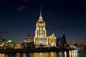 Moscow, Hotel Ukraine ( Radisson Royal ) by Iva Afonskaya