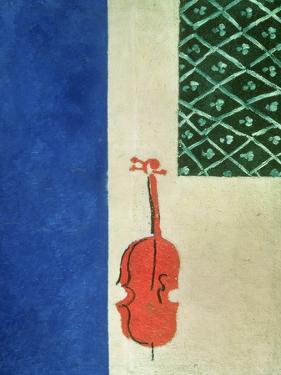 Red Violin, 1919 by Ivan Albertovvitsch Puni