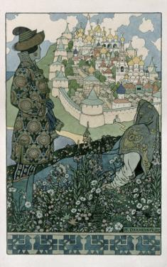 Illustration For Alexander Pushkin's 'Fairytale of the Tsar Saltan', 1905 by Ivan Bilibin