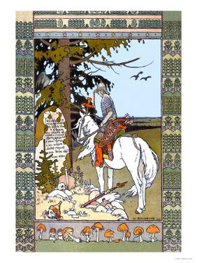 Pay Your Respects by Ivan Bilibin