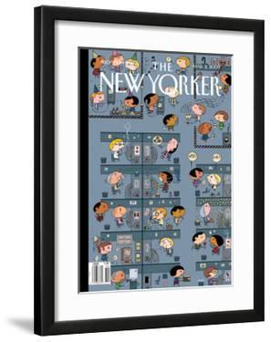 The New Yorker Cover - March 2, 2009 by Ivan Brunetti