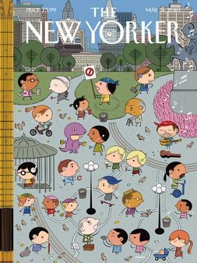 The New Yorker Cover - May 31, 2010 by Ivan Brunetti