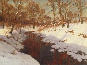 November Evening, c.1923 by Ivan Fedorovich Choultse