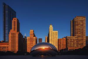 Chicago City by Iván Ferrero