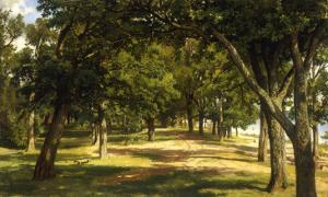 Wood Glade, 1889 by Ivan Ivanovitch Shishkin