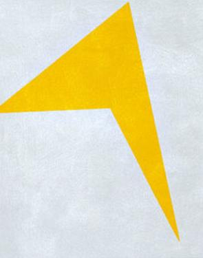 Untitled, 1917 (Yellow) by Ivan Kljun