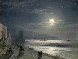 Moon Night, 1885 by Ivan Konstantinovich Aivazovsky