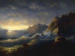 Survivors from a Shipwreck, 1846 by Ivan Konstantinovich Aivazovsky
