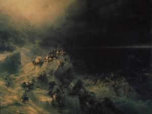 The Deluge, 1864 by Ivan Konstantinovich Aivazovsky