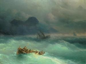 The Shipwreck, 1873 by Ivan Konstantinovich Aivazovsky