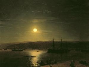 View of Constantinople by Ivan Konstantinovich Aivazovsky