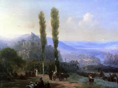 View of Tiflis, 1869 by Ivan Konstantinovich Aivazovsky