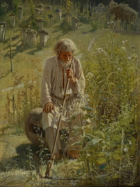 Beekeeper, 1872 by Ivan Nikolayevich Kramskoi