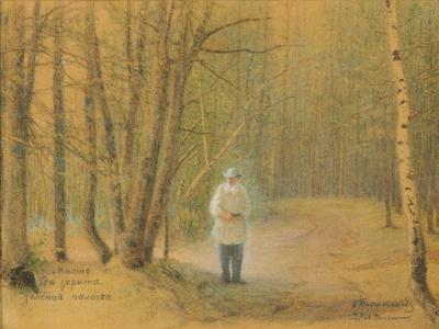 Leo Tolstoy in the Zakaz Forest