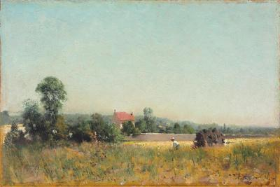 In the Fields, France, 1882