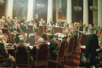 The Ceremonial Session of the State Council of Imperial Russia on May 7, 1901, 1903