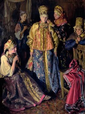 Wedding Dress, 1911 by Ivan Semyonovich Kulikov