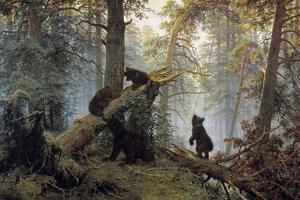 Morning in a Pinewood, 1889 by Ivan Shishkin