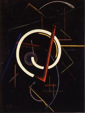Linear Structure, 1922 by Ivan Vassilyevich Klyun