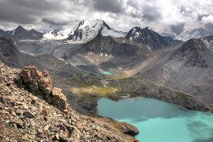 Ala Kul (Ala Kol) Lake (3560 M), Issyk Kul Oblast, Kyrgyzstan by Ivan Vdovin