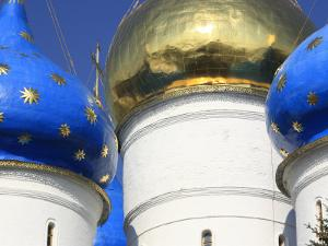 Assumption Cathedral, Trinity Lavra of St. Sergius, Sergiyev Posad, Golden Ring, Russia by Ivan Vdovin
