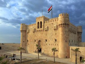 Citadel of Qaitbay, Alexandria, Egypt by Ivan Vdovin